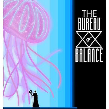 Bureau Travel Poster by atlasbeetles