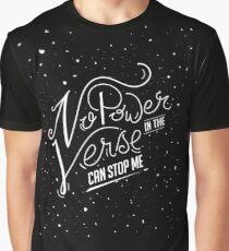 Nothing in the Verse Can Stop Me Graphic T-Shirt