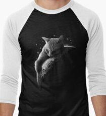 MOONCAT  Baseball ¾ Sleeve T-Shirt