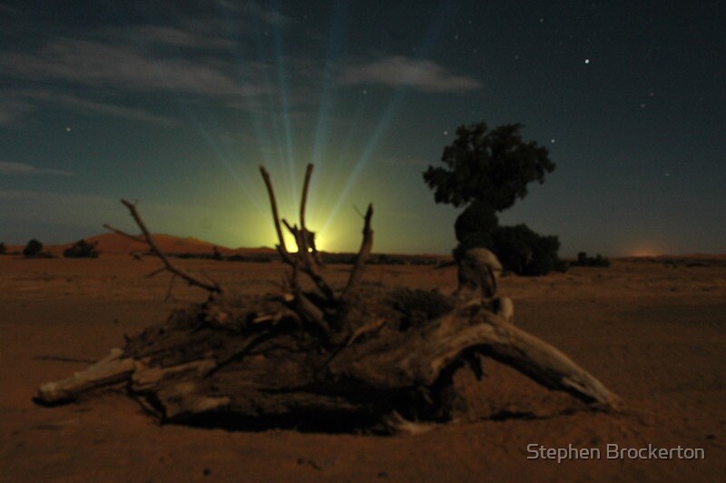 Sahara False Dawn by Stephen Brockerton