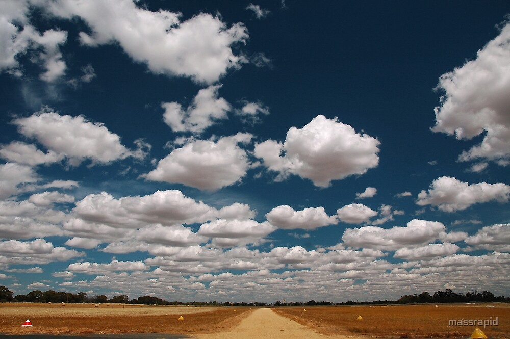 Cotton Candy Clouds by massrapid