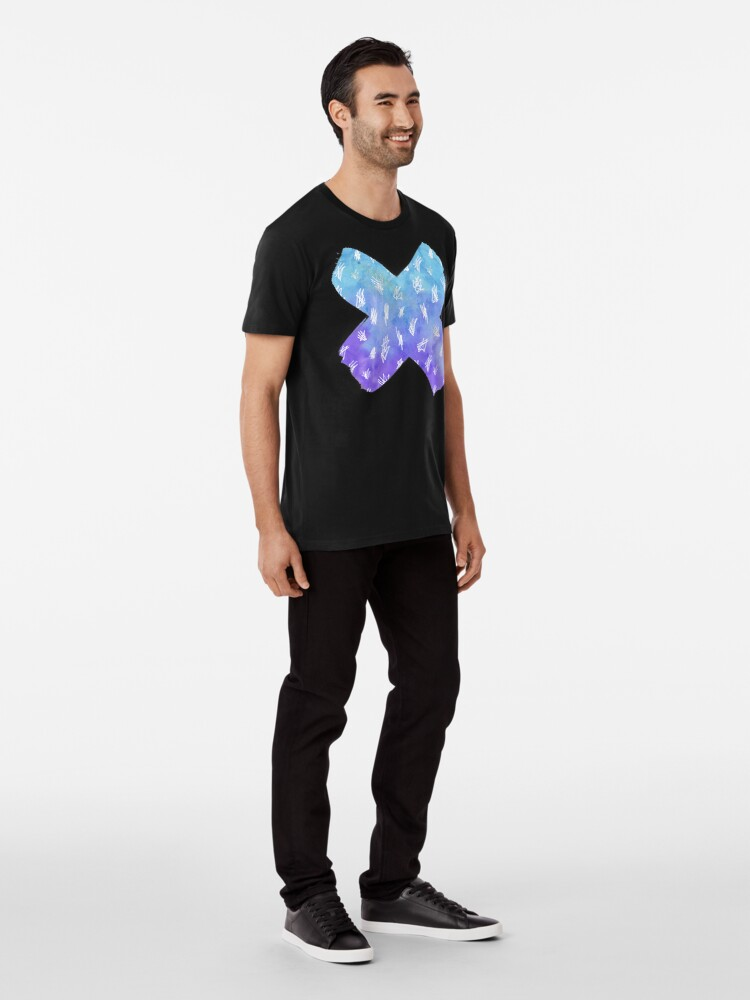 Alternate view of Watercolour X  Premium T-Shirt