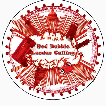 Red Bubble - London Calling by straylight