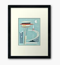 Space Needle Surprise  Framed Print