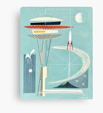 Space Needle Surprise  Canvas Print