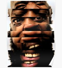 Death Grips - What he really loves you for Poster