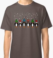 Penguins at the office party Classic T-Shirt