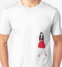 Girl in Red Unisex T-Shirt