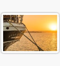 Star of India Sailing Ship Sticker