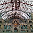 Antwerp Central Train Station  by TalBright