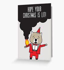 Lit Greeting Card