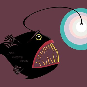 DEEP SEA ANGLERFISH by jgevans