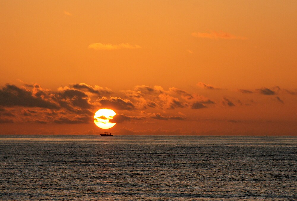 Sunrise fishing by tomleeman