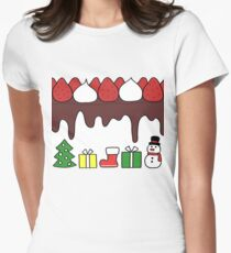 Happy Yummy Holidays! Other taste Women's Fitted T-Shirt