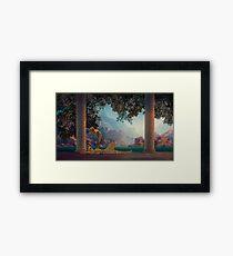 Daybreak 1922 Maxfield Parrish Framed Print