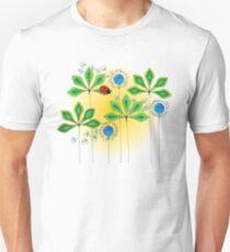 Leafy Green Ladybug Unisex T-Shirt
