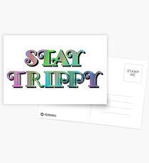 Stay Trippy Postcards