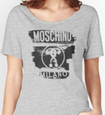 Moschino milano Women's Relaxed Fit T-Shirt