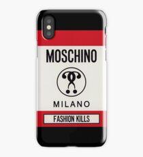 Moschino milano iPhone Case/Skin