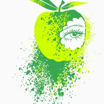 Eye of an Apple  by Designerd