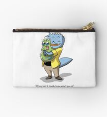 Norm and Squishy from 'My Cage' Studio Pouch