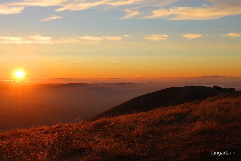 Mt Diablo sunset III by tanyadann