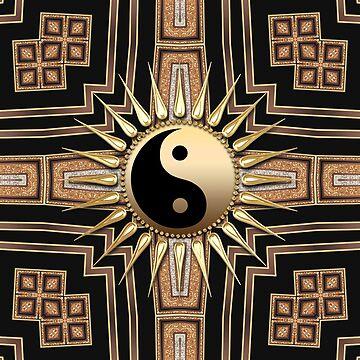 Black Gold Art Deco New Age fusion by webgrrl