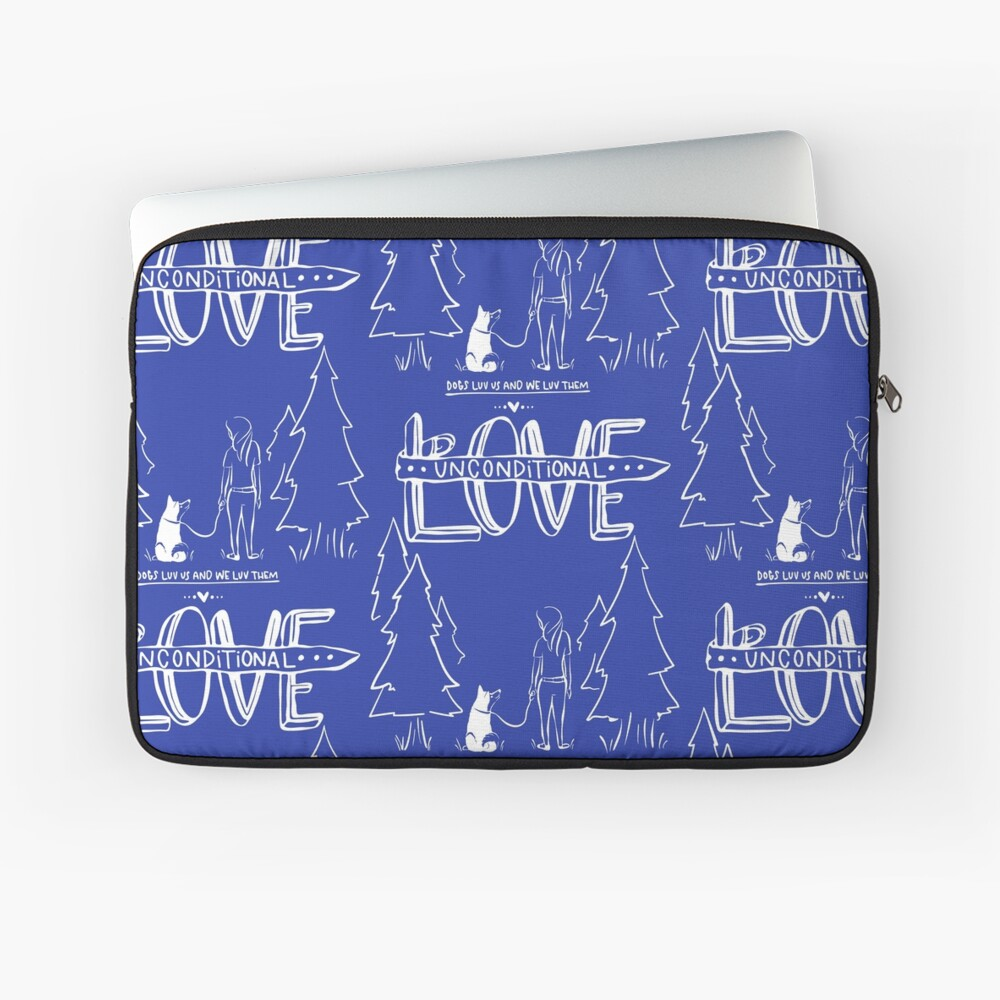 Gifts for Dog Lovers With Style Laptop Sleeve