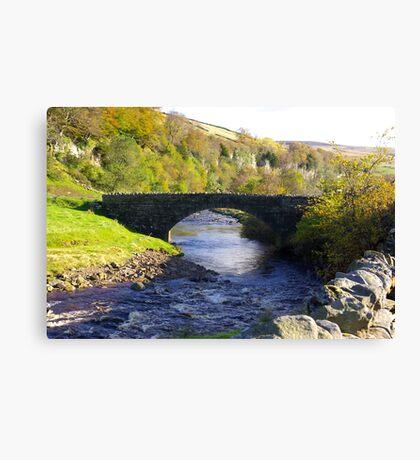 Stone Bridge at Keld,Yorkshire Dales. Canvas Print