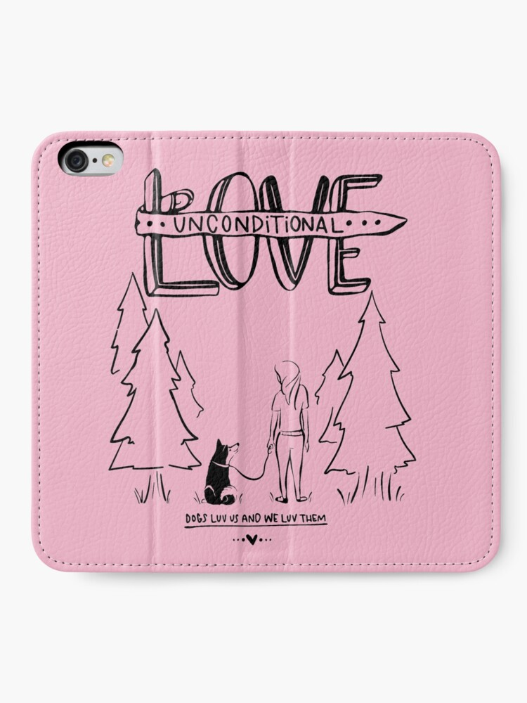 Alternate view of Dog Lovers With Style iPhone Wallet