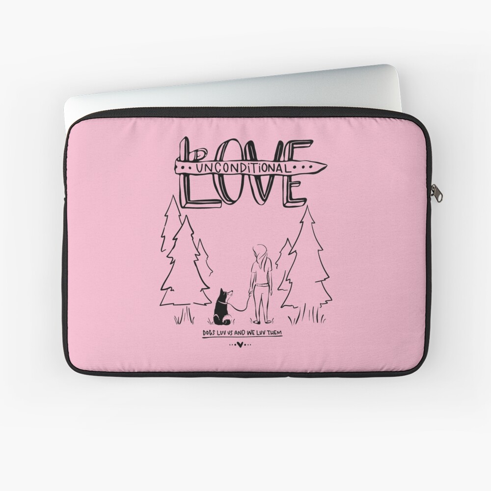 Dog Lovers With Style Laptop Sleeve
