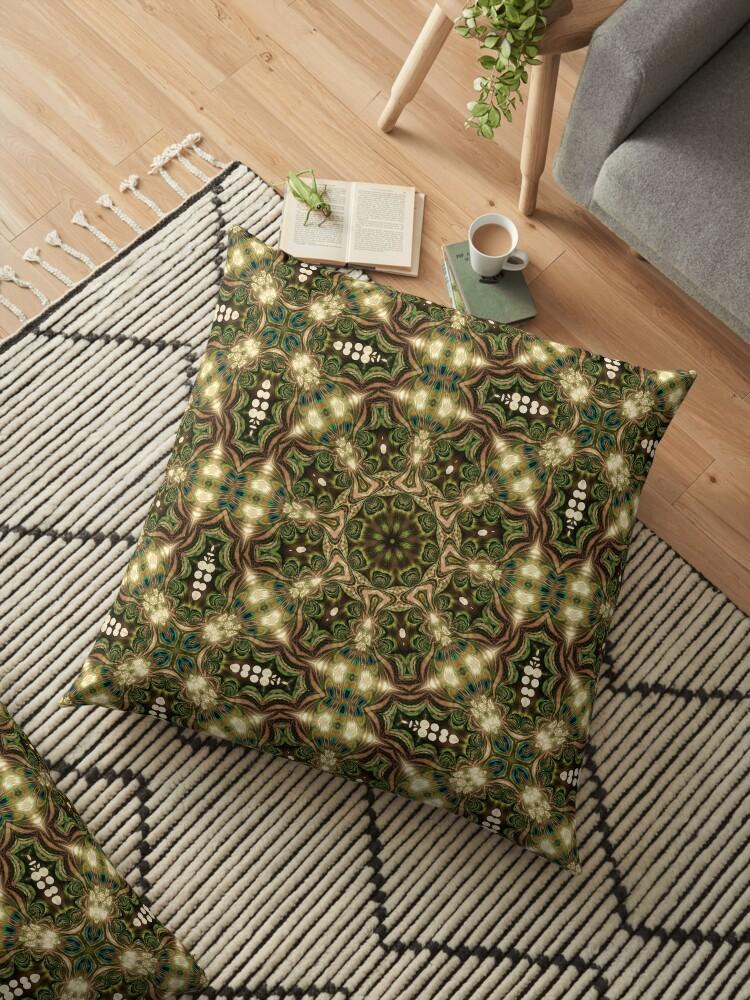 Peacock Batik Mandala by webgrrl