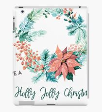 Have a Holly Jolly Christmas! iPad Case/Skin