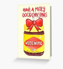 Have A Mitey Good Christmas Greeting Card