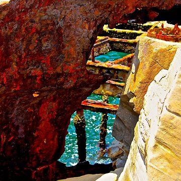 Shipwreck #2 by MeganLouiseAU