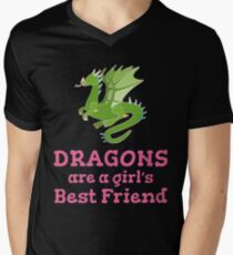 Dragons are a Girl's Best Friends T-Shirt