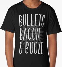 supernatural - bullets, bacon & booze Long T-Shirt