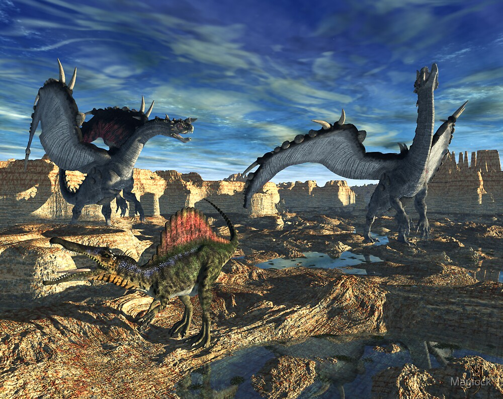 The Dragon call of the Wild by Maylock