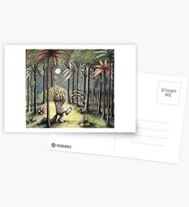Where The Wild Things Are Postcards