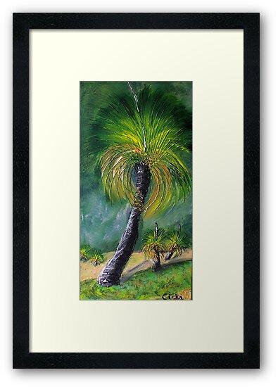 Grass Trees 1 by Ciska