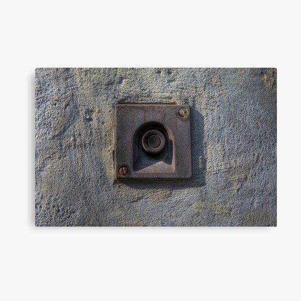 Forgotten Doorbell Canvas Print