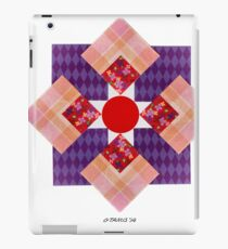 SCRAPBOOK PAPER FIGURE iPad Case/Skin
