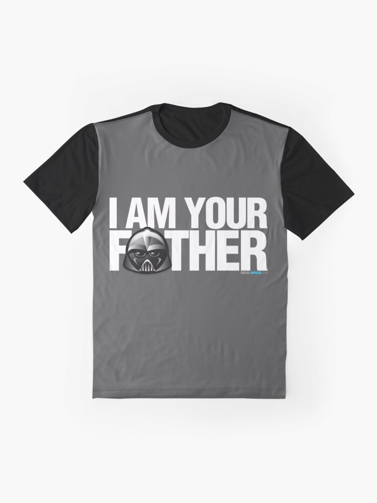 Alternate view of SW - I am your father - Dark Version Graphic T-Shirt