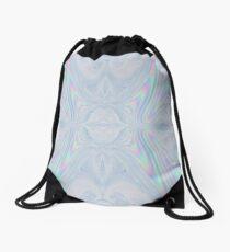 Holographic Magic - Abstract Art Drawstring Bag