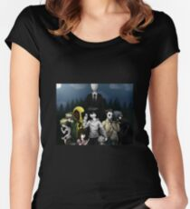 Creepypasta Women's Fitted Scoop T-Shirt