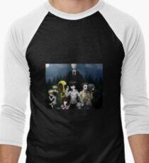 Creepypasta Men's Baseball ¾ T-Shirt
