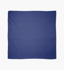 Pañuelo Bufanda IPA - azul marino y blanco