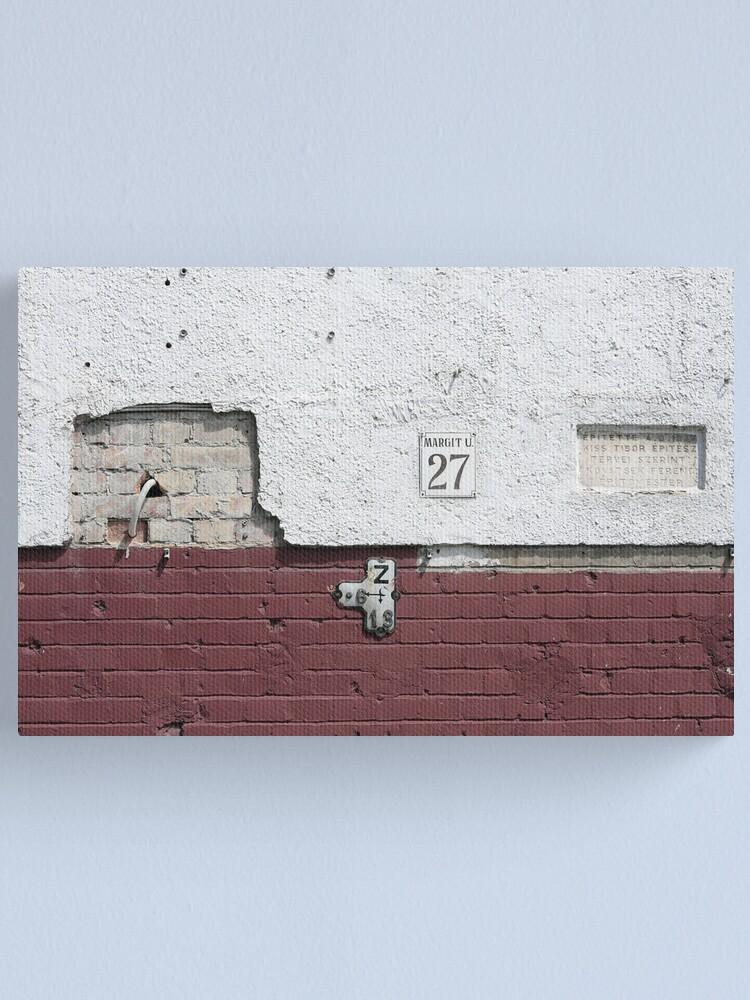Alternate view of Margit Street 27 Canvas Print