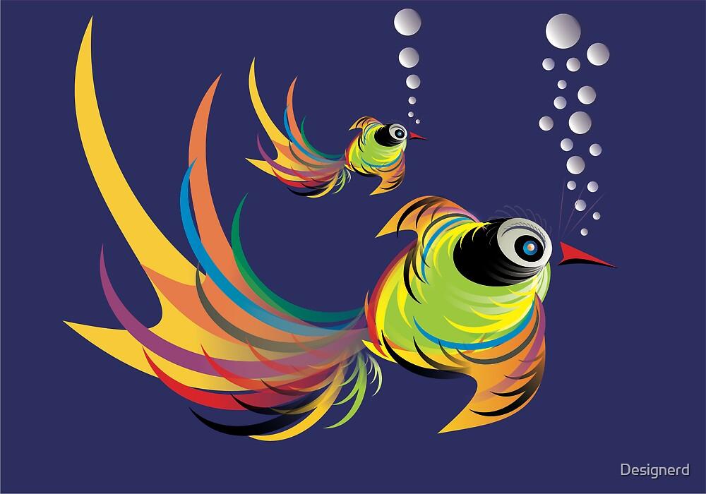 BirdFish by Designerd
