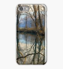 Smoky Reflection iPhone Case/Skin